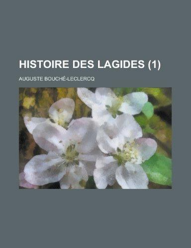 9781234699390: Histoire Des Lagides (1 )