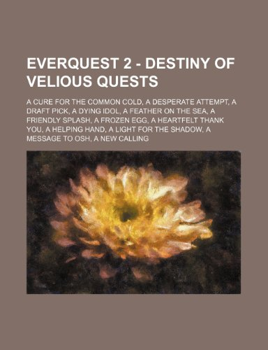 9781234729370: Everquest 2 - Destiny of Velious Quests: A