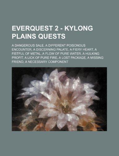 9781234729493: Everquest 2 - Kylong Plains Quests: A