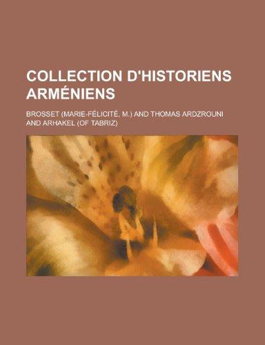 9781234879631: Collection D'Historiens Armeniens