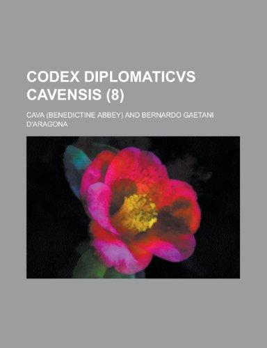 9781234884789: Codex Diplomaticvs Cavensis (8 )