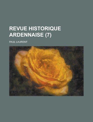 9781234892517: Revue Historique Ardennaise (7 )