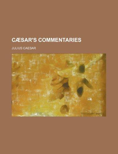 9781234902124: Caesar's Commentaries