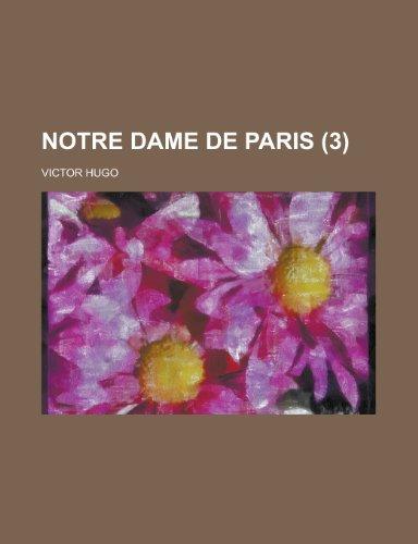 9781234915650: Notre Dame de Paris (3)