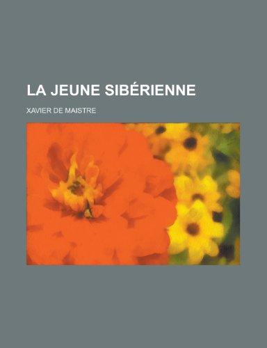 9781234930967: La Jeune Siberienne