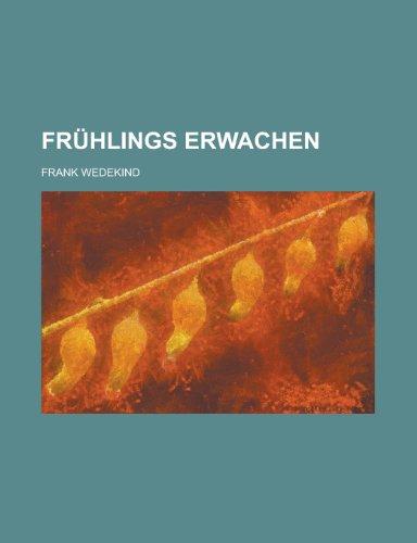 9781234940416: Fruhlings Erwachen