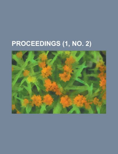 9781234945688: Proceedings (1, no. 2)