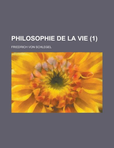 9781234955946: Philosophie de La Vie (1)
