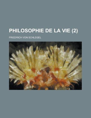 9781234957315: Philosophie de La Vie (2)