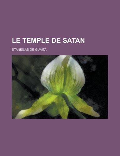 9781234957957: Le Temple de Satan