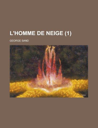 9781234961589: L'Homme de Neige (1)