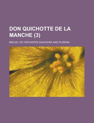 9781234982232: Don Quichotte de La Manche (3)