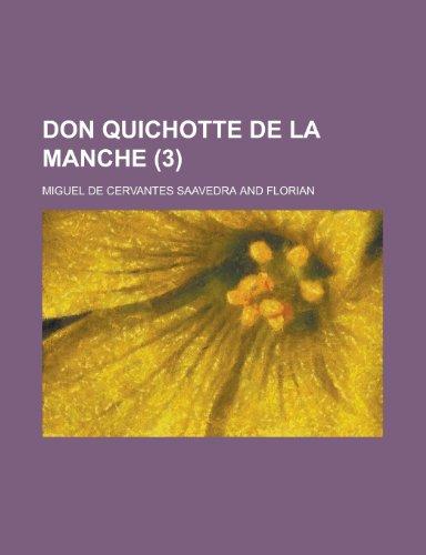 9781234982232: Don Quichotte de La Manche (3)