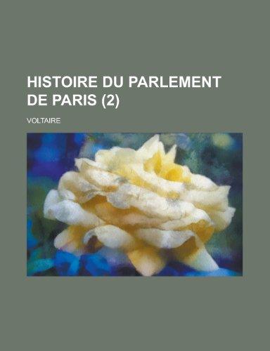 9781234983635: Histoire Du Parlement de Paris (2)