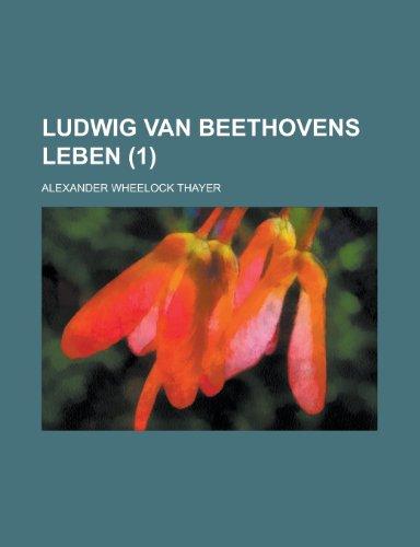 9781234991050: Ludwig Van Beethovens Leben (1)