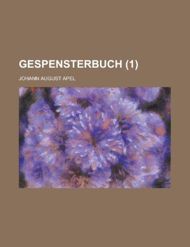 9781234995263: Gespensterbuch (1)