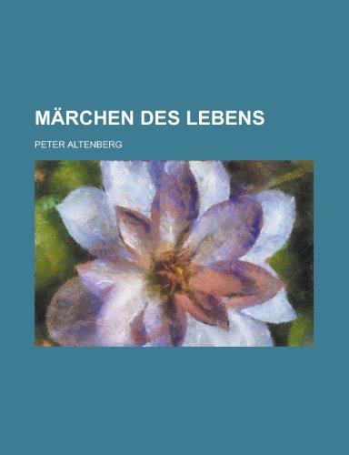 9781235001468: Märchen Des Lebens