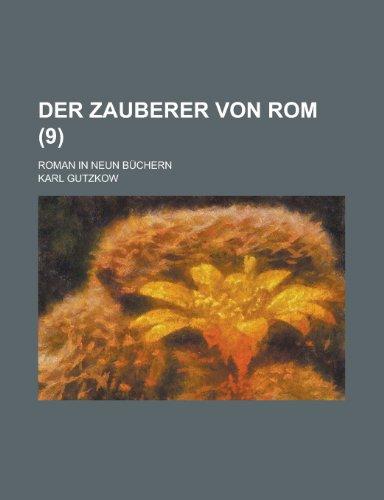 9781235005428: Der Zauberer Von Rom (9)