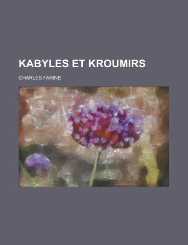 9781235017766: Kabyles Et Kroumirs