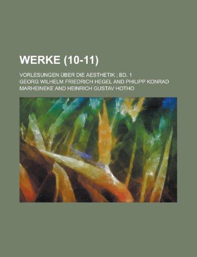 Werke (10-11) (1235088006) by Georg Wilhelm Friedrich Hegel