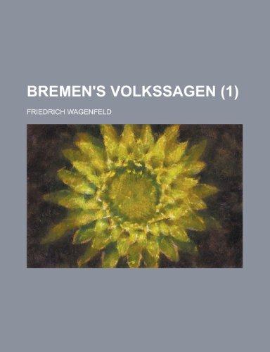 9781235107283: Bremen's Volkssagen