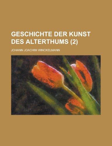 9781235109607: Geschichte Der Kunst Des Alterthums (2)