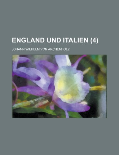 9781235144240: England Und Italien (4)