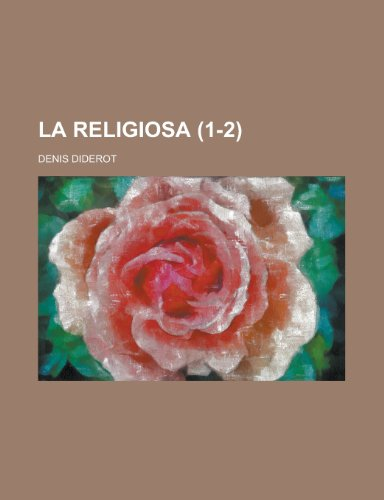 9781235154430: La Religiosa (1-2)