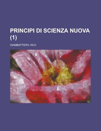 9781235161889: Principi Di Scienza Nuova (1)