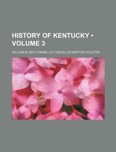 9781235174179: History of Kentucky (Volume 3)