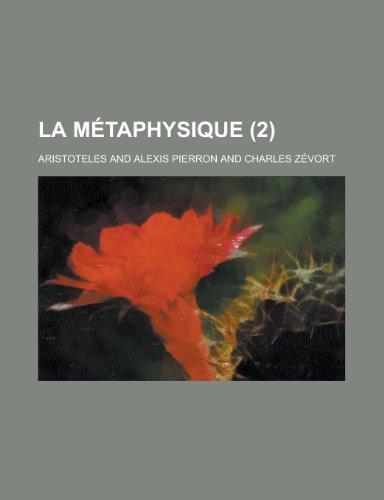 La Métaphysique (2) (123517493X) by Aristoteles
