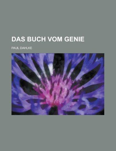 9781235179761: Das Buch Vom Genie