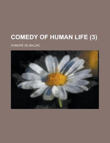 9781235200243: Comedy of Human Life (Volume 3)