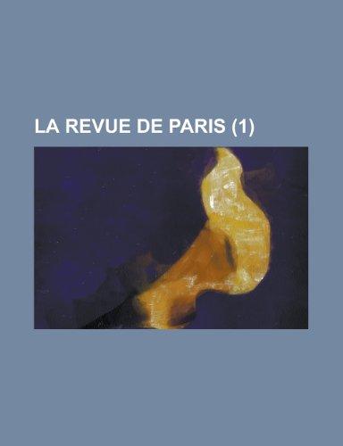 9781235234309: La Revue de Paris (1 )