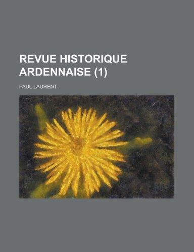 9781235236587: Revue Historique Ardennaise (1 )