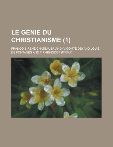9781235244094: Le Genie Du Christianisme (1)