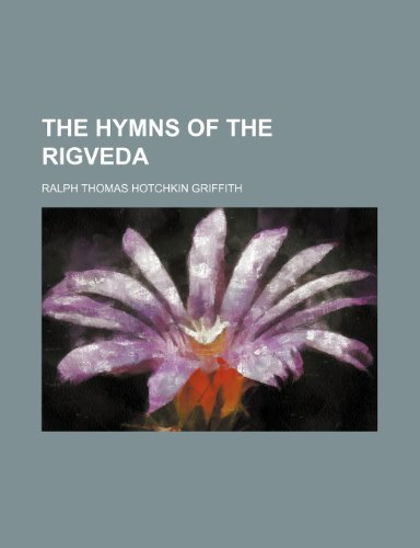 9781235251801: The Hymns of the Rigveda (Volume 1)