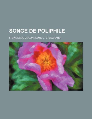 9781235255663: Songe de Poliphile