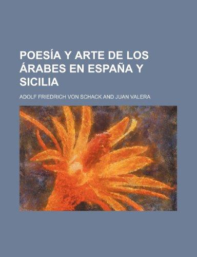 9781235289347: Poesia y Arte de Los Arabes En Espana y Sicilia (2)