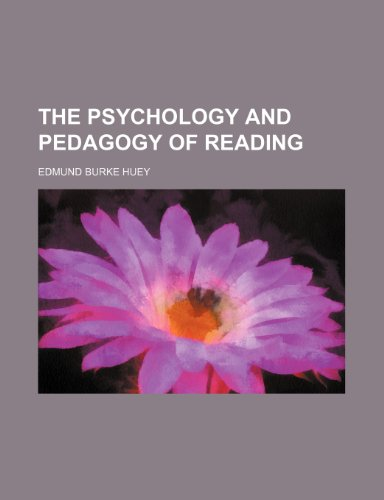 9781235295393: The Psychology and Pedagogy of Reading