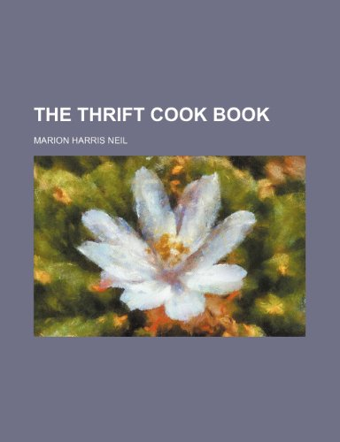 9781235310317: The Thrift Cook Book