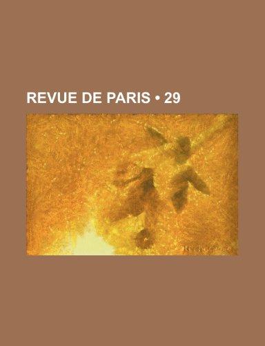 9781235335280: Revue de Paris (29)