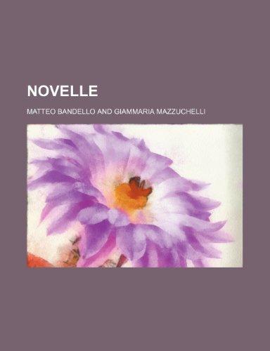 9781235362408: Novelle (9)