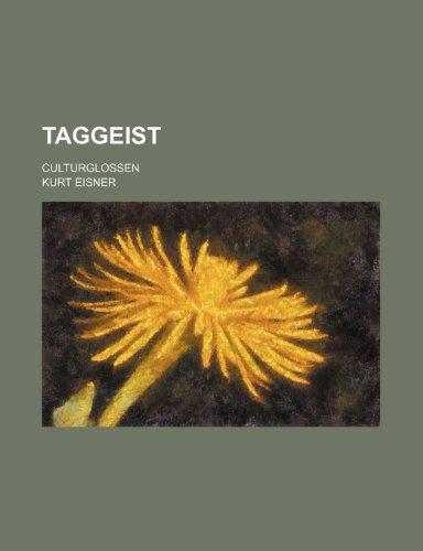 9781235487118: Taggeist; Culturglossen
