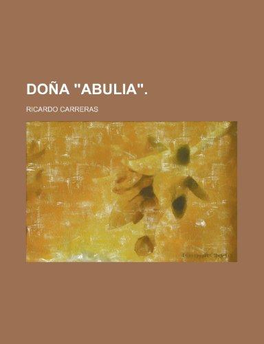9781235492679: Doña
