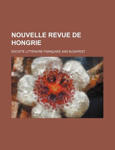 9781235524097: Nouvelle Revue de Hongrie (2)