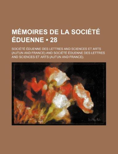 9781235544392: Memoires de La Societe Eduenne (28)