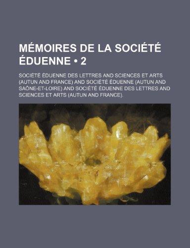 9781235549236: Memoires de La Societe Eduenne (2)