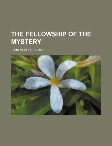 9781235654213: The Fellowship of the Mystery