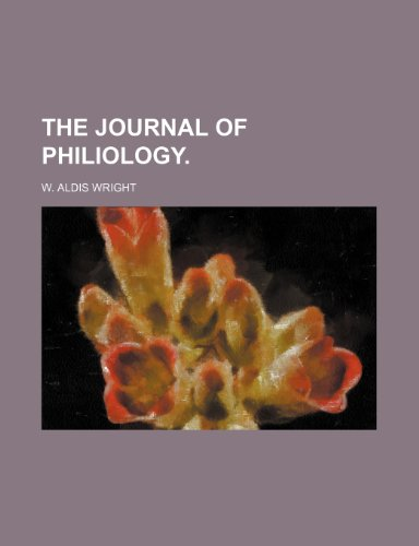 9781235661730: The Journal of Philiology.